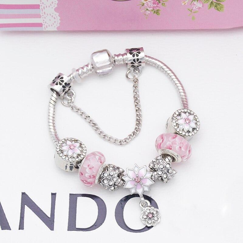 DIY Jewelry Pink Flower...