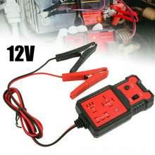 Para o verificador da bateria do automóvel do carro ferramentas diagnósticas 12v leitor de código universal eletrônico testador relé automotivo