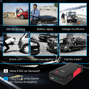 Image 2 - GKFLY High Power 1500A Starting Device 12V Portable Car Jump Starter Power Bank Car Charger For Car Battery Booster Buster LED