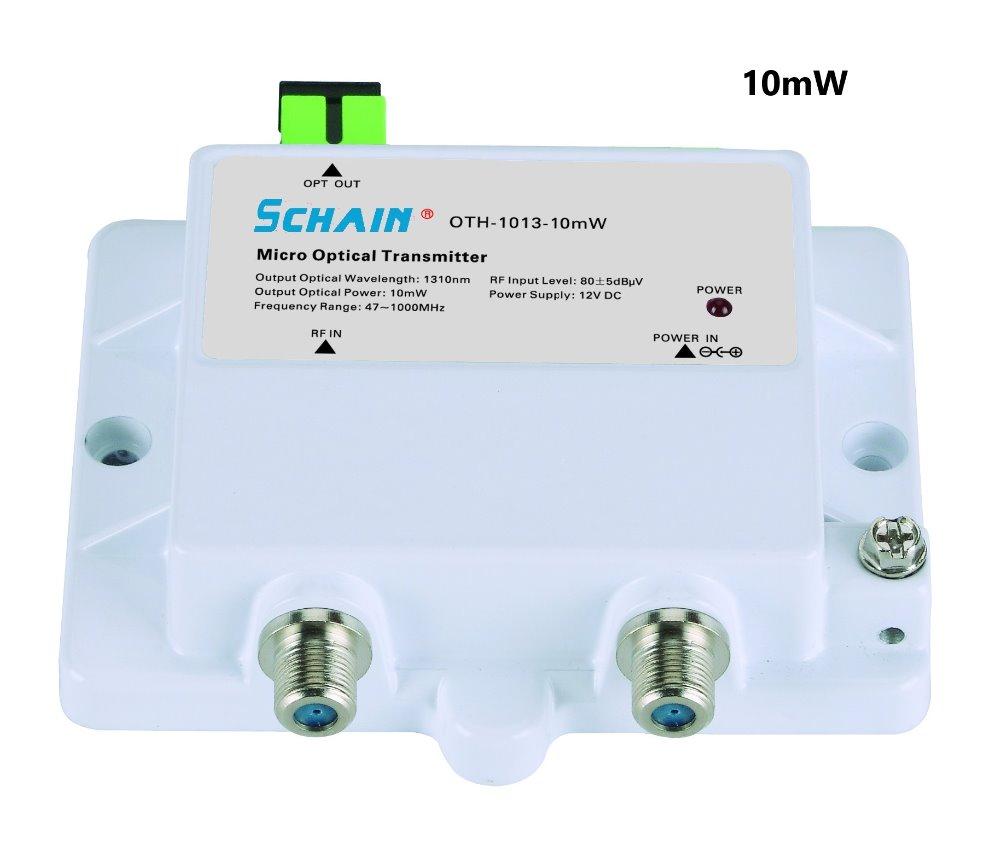 Mini Micro Optical Transmitter 15mw FTTH 15V DC 1315nm 15nm CATV with SC  APC FTTH Optical Transmitter Fibra Optica Tool
