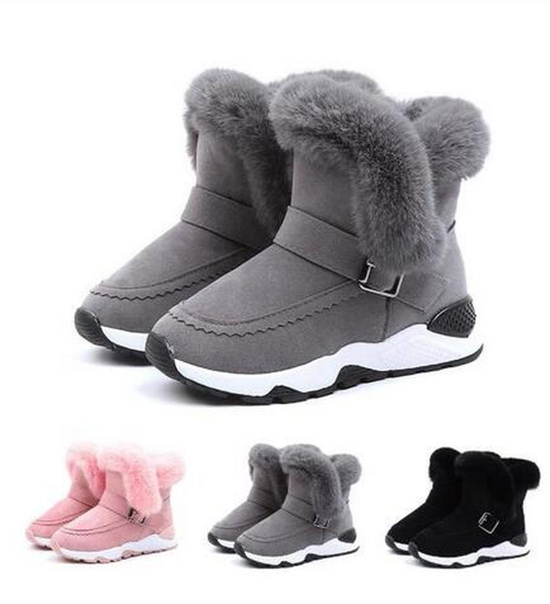 Baby Wolle Schneestiefel Winterstiefel Snow Boots Booties Shoes Warm Schuhe
