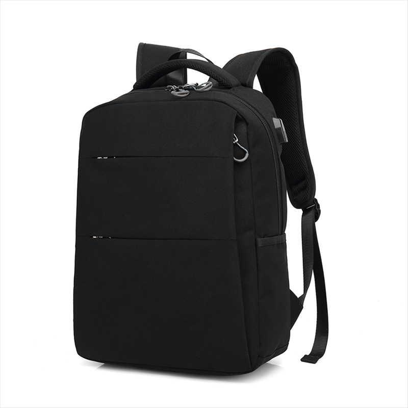 Tianhoo negócios mochila masculina ombro na moda bolsa de viagem casual simples moda portátil bagpack