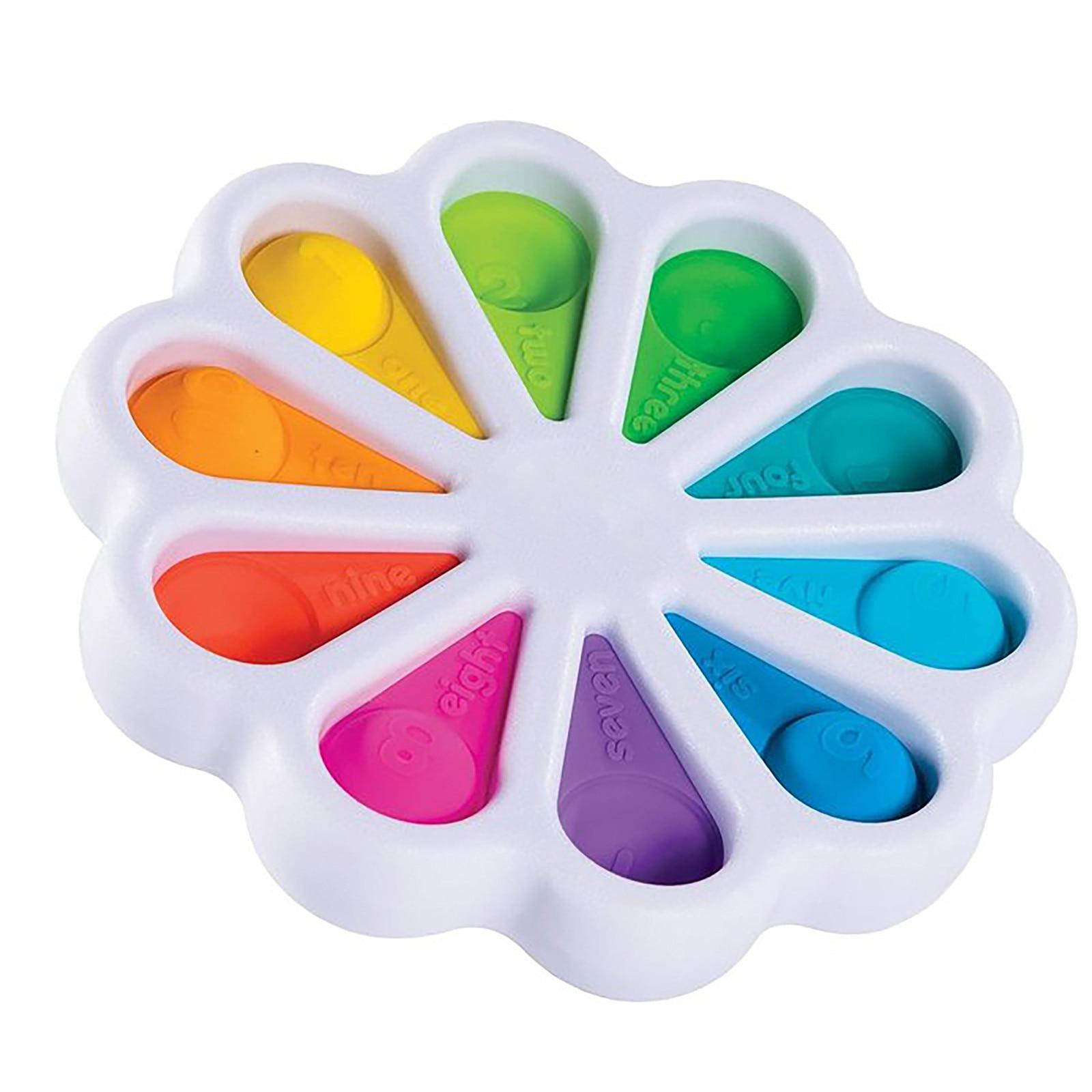 Игрушка-антистресс для детей и взрослых, игрушка для снятия стресса, для раннего развития аутизма и особых потребностей