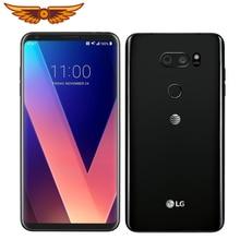 LG V30 US998, четыре ядра, 6,0 дюймов, 4 Гб ОЗУ, 64 Гб ПЗУ, задняя камера, 16,0 Мп, 3 камеры LTE, отпечаток пальца, разблокированный мобильный телефон