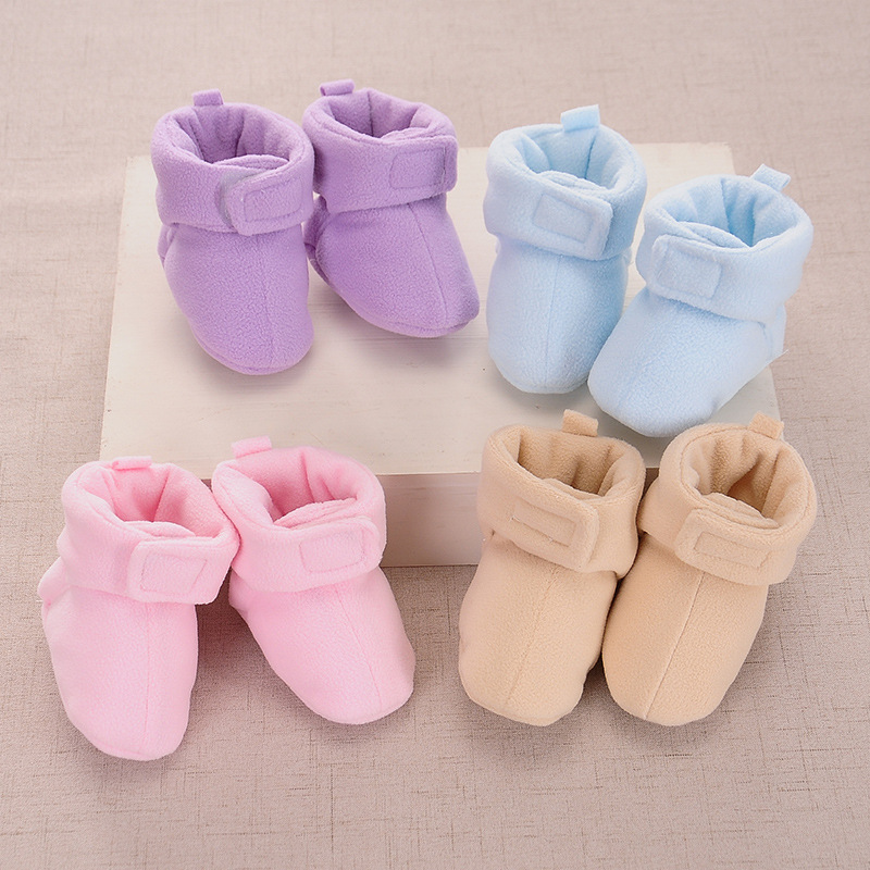 Newborn Winter Warm Boots Infant Toddler Kids Baby Shoes Cotton Baby Booties 0-12M