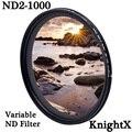 KnightX ND2 zu ND1000 Fader Variable ND filter Einstellbar Für canon nikon 49mm 52mm 55mm 58mm 62mm 67mm 72mm 77mm zubehör|Kamerafilter|Verbraucherelektronik -