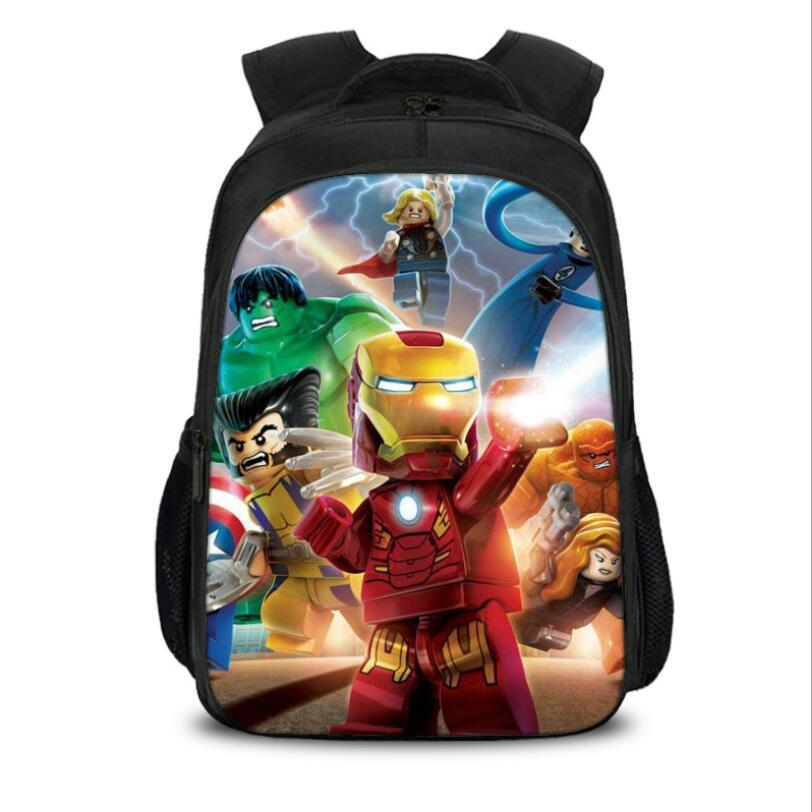 2019 Children School Bags Ninjago Game Schoolbag For Boy Backpack Game Printing Book Bag Backpack For Teenagers Sac A Dos Enfant