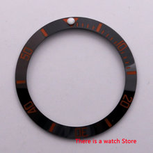 38 Mm Ceramic Sisipan Bingkai Cincin Luminous Dot Fit 40 Mm Case Jam Sub Automatic Jam Tangan Pria(China)