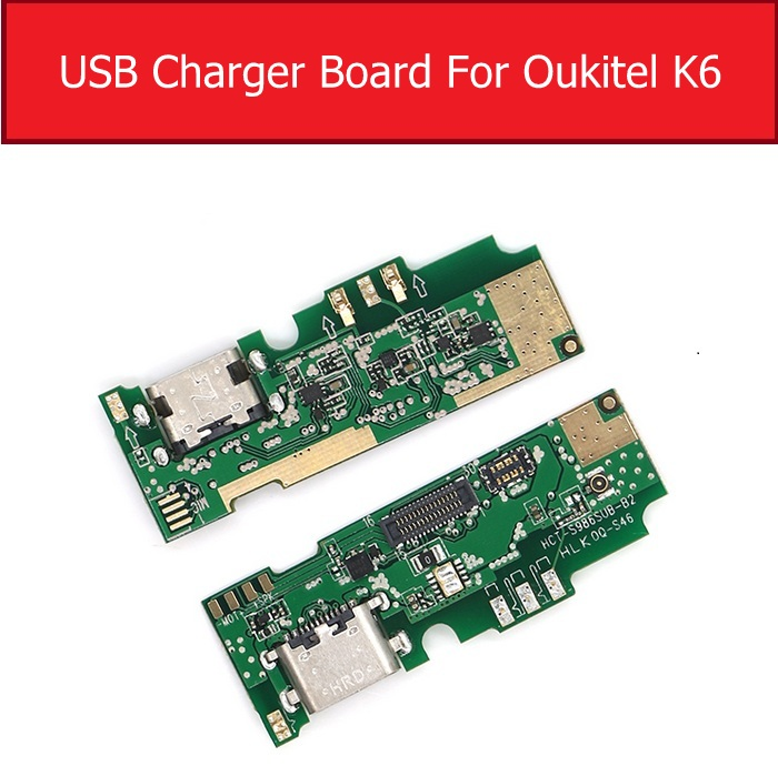 Usb Charger Jack Prot Board For Oukitel K6 Chargring Plug Dock Board Replacement Accessories Parts Repair|Mobile Phone Flex Cables| |  - title=
