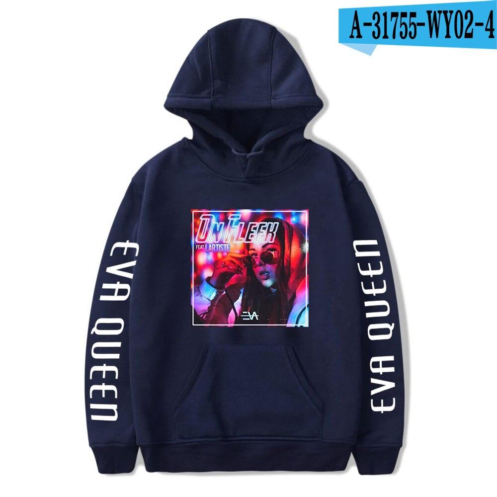 2020 Eva Queen Hoodies Men Casual Streetwear Sweatshirt Sudadera Hombre Eva Queen Hoodie For Men/Women 20