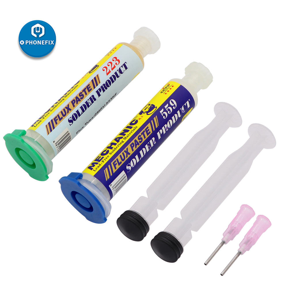 Mechanic Solder Paste CMOV-223/559 BGA Solder Paste Flux 10CC Lead-Free Welding Fluxes For PCB SMD Soldering Reballing Repair