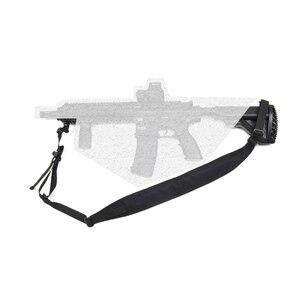 Image 5 - MILITECH TWINFALCONS TW 500D Cordura, тактическая охотничья два 2 точек касания Slingster мягкий модульный оружейный слинг регулировки винтовка пистолет ремень