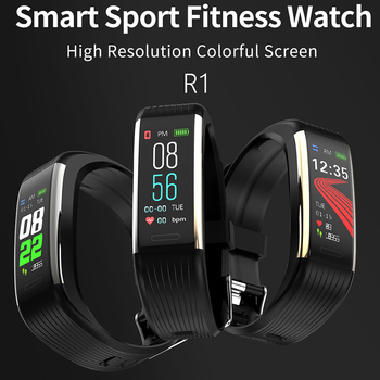 2020 Smart Wristband Fitness Bracelet Blood Pressure Measurement Smart Bracelet Heart Rate Waterproof Pedometer Smart Band Watch 1