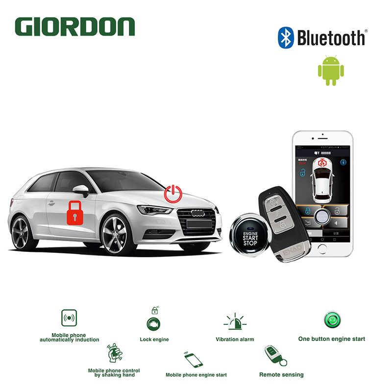 Car alarm system avital PKE dark lock induction anti theft