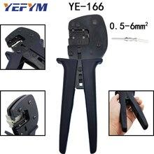 항공 터미널 압착 펜치 도구 Harting Hardin pin YE 166 헤비 듀티 커넥터 압착 깊이 도구의 자동 조정