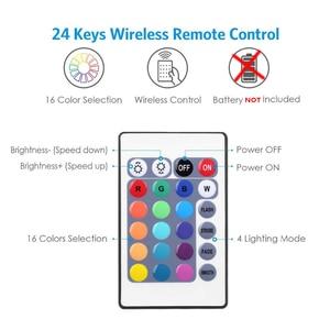 Image 5 - Bande lumineuse RGB avec adaptateur 12V, bandes lumineuses flexibles, 5/10/15M, bandes lumineuses flexibles avec adaptateur Google Home et Alexa WIFI LED, WIFI LED