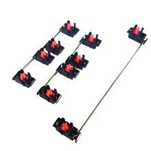 Cool Jazz Mechanical keyboard cherry mx switch pcb mounted stabilizer black case 6.25u modifier key stabiliser plate mounted 7u