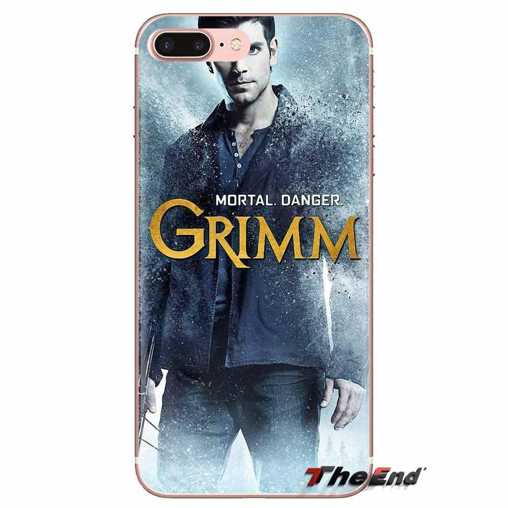 David Giuntoli Grimm Silverton Lembut Transparan Penutup untuk Samsung Galaxy S3 S4 S5 Mini S6 S7 Edge S8 S9 S10 plus Catatan 3 4 5 8 9