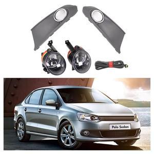 Image 1 - Car Light For VW Polo Vento Sedan Saloon 2011 2012 2013 2014 2015 2016 Fog Light Fog Lamp Fog Light Cover And Harness Assembly