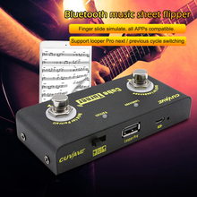 Looper Guitar Pedal-Supports Page Turner Bluetooth CUVAVE Musical Wireless-Accessories