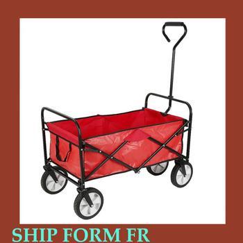 Składany wózek sklepowy samochód przenośne zakupy wózek ręczny Outdoor Beach Camping wózek piknikowy wózki ogrodowe wielofunkcyjny kosz do przechowywania HWC tanie i dobre opinie CN (pochodzenie) 80KG Garden Carts 69*13 5*55cm 10 2kg Wholesale Dropshopping Utility Wagon Cart
