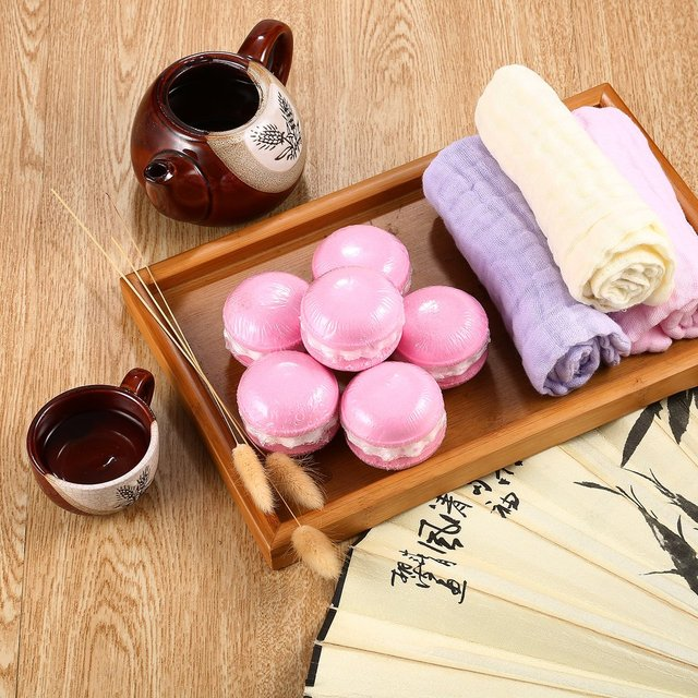 6pcs/set Bath Bombs Bath Salts Bath Fizzer All Natural Ball Essential Oil Handmade Home SPA Moisturizing Skin Stress Relief 2