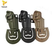 TOtrait Tactical Hunting Bretta M9 92 96 Airsoft pistolet kabura bojowa pasuje do prawej ręki pas biodrowy kabura akcesoria myśliwskie