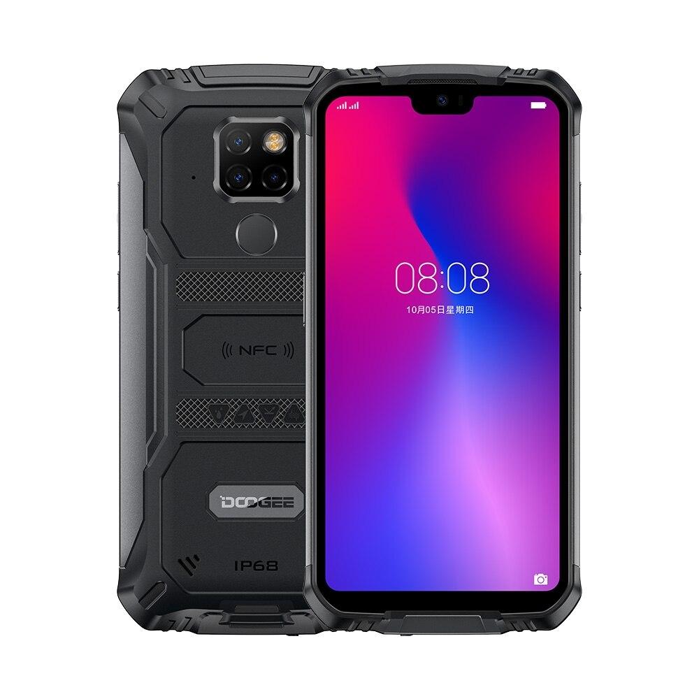 Фото. DOOGEE S68 Pro IP68/IP69K прочный телефон Android 9,0 Helio P70 Восьмиядерный 6 ГБ ОЗУ 128 Гб ПЗУ 5,