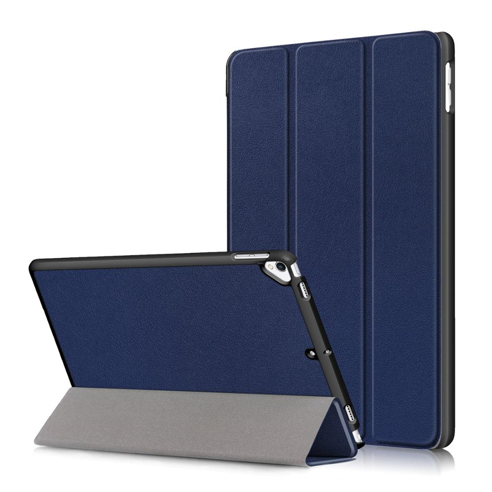 Dark Blue Blue Smart PU Leather Case for iPad 10 2 2019 Case Cover for Apple iPad 7 7th