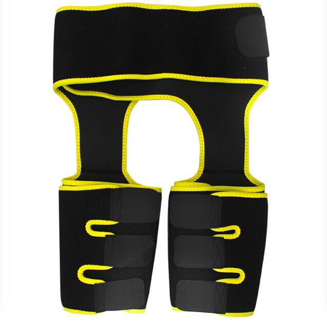 Three-in-one hip belt explosion sweat beam belt sports abdomen belt bodybuilding one-piece waist leggings belt 2
