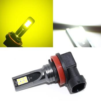 1pc 9005 hb3 / 9006 hb4 / h10 9145 / h11 h8 100w 6000k lamp driving 2323 led super light white daytim running light fog A1R9 image
