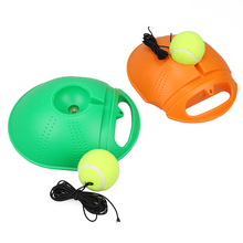 Heavy Duty Tennis Training Tool Exercise Ball Self-study Rebound With Trainer Baseboard Sparring Device