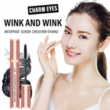 2020 New 4D Silk Fiber Eyelash Mascara Waterproof Curling Eyelashes Mascara Thick Lengthening Lash Extension Makeup Eye Cosmetic недорого