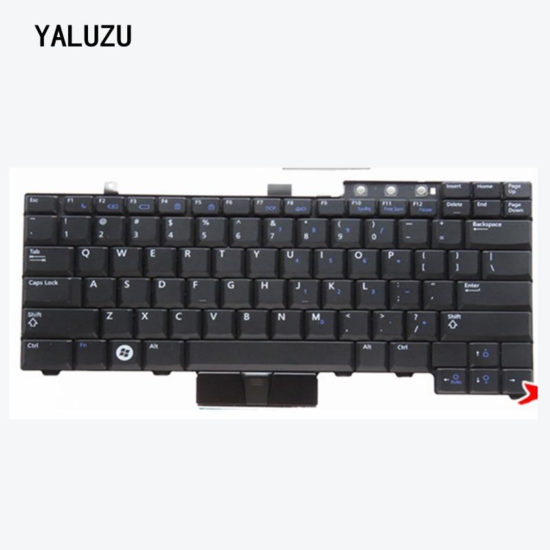 US Keyboard For Dell Latitude E6400 E6410 E5500 E5510 E6500 E6510 For Precision M2400 M4400