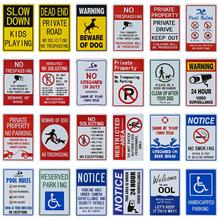 DL  No Parking Sign Private Property Sign Violators Will Be Towed Sign UV Printed, Easy to Moun