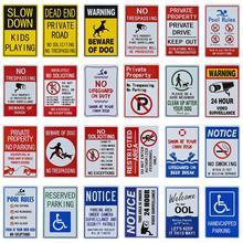 Dl no znak parkingowy znak własności prywatnej naruszacze będą holowane znak UV drukowane, łatwe do Moun