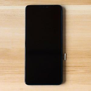 Image 2 - 6.1 LCD ل LG G7 LCD G710 G710EM G710PM G710VMP شاشة إل سي دي باللمس الجمعية شاشة محول الأرقام الإطار ل LG G7 thinQ LCD