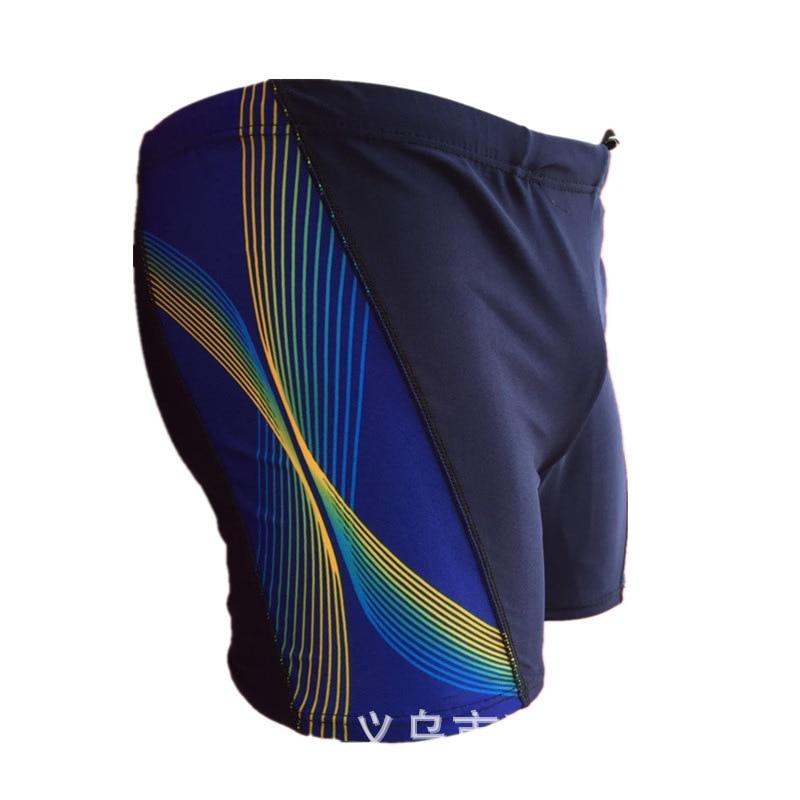 Hot Springs Swimming Trunks 2018 New Style Printed Men's Fashion Boxer Beach Shorts Plus-sized MEN'S Swimming Trunks