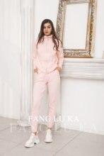Высококачественный модный кардиган на молнии и трикотажные брюки