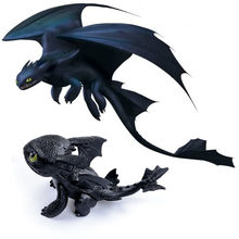 7cm How to Train Your Dragon Toothless Action figure Toyless Toothless Toys For Children's Birthday Gifts K0010(China)