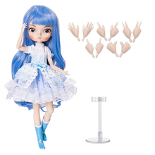 35cm 1/6 Multi DIY Ball Joints Doll Full Set Moveable BB Girl Doll with Full Clothes Interactive Dolls For Collection- LanXin bulgari bb collection