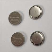 4pcs/lot New Original Panasonic ML1220 3V ML 1220 Rechargeable CMOS RTC BIOS Back Up Cell Button Coin Battery Batteries