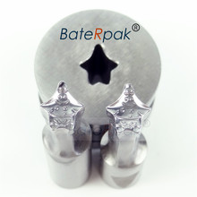 цена на Patric Star Cartoon Design Milk Tablet Die 3D Punch Press Mold,BateRpak Candy Punching Die,Calcium Tablet Punch Die 7.9*9.43MM