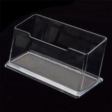 1 шт. на рабочий стол Полка коробка демонстрационный стенд для хранения акриловый пластик прозрачный Рабочий стол визитница