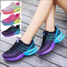 Flying Mesh Shoes Women Sneakers Womens Casual Shoe Tenis Feminino Woman Air Cushion Shoe Moda Mujer 2019 Brand Designer Shoes