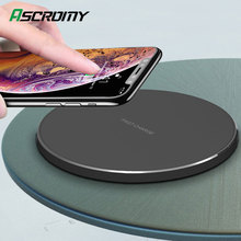 15W Fast QI Wireless Charger Pad For Samsung Note 10 S10 Plus Huawei P30 Pro Xiaomi Mi9 iPhone XR X XS Max 8 Induction Charging
