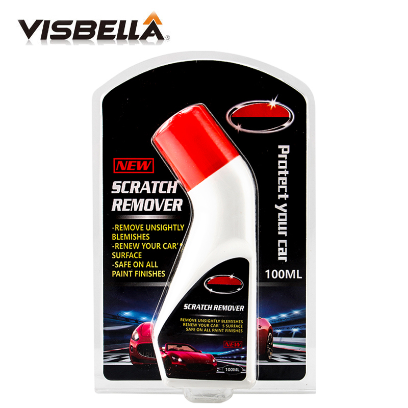 Visbella 100ml Car Scratch Polish Paint Remover Paste Polishing Wax Scratch Clean Repair Liquid Care Maintenance Auto Detailing