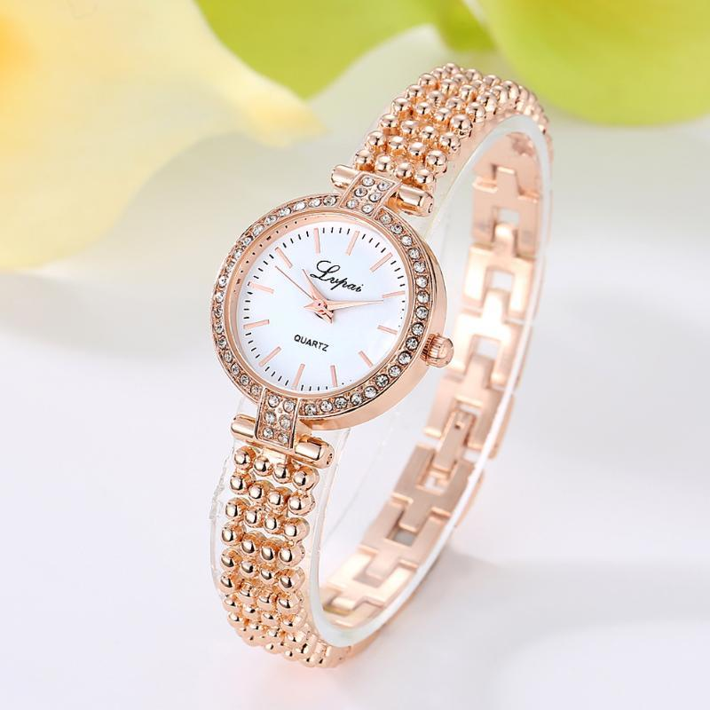 Fashion Luxury Brand Rhinestone Quartz Women Watch Stainless Steel Bracelet Crystal Hot Ladies Clock Love Gift Wristwatches