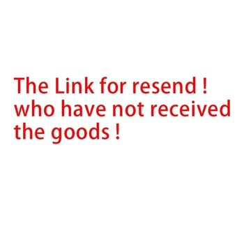 The link for resend ! Please do not place an order before contact the Customer service. image