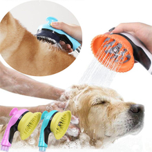 Pet Cat Dog Bath Sprayer Soft Rubber Massage Shower Head Dog Bath Shampoo Pet Grooming Brush Cleaner For Dogs Cats Pet Products